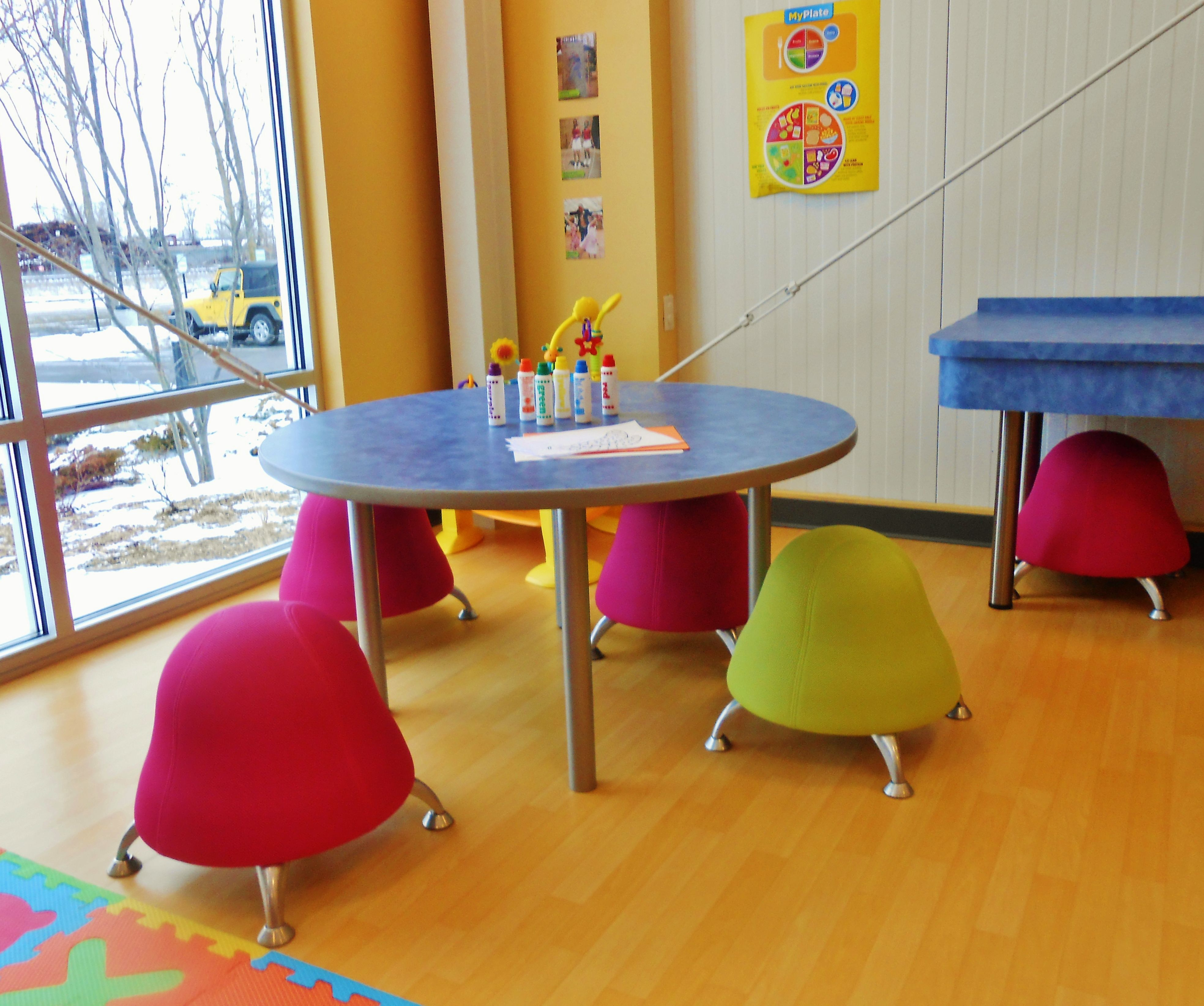 ball chair for kids personalized kid can you imagine a new generation of health conscious rac chairs 1