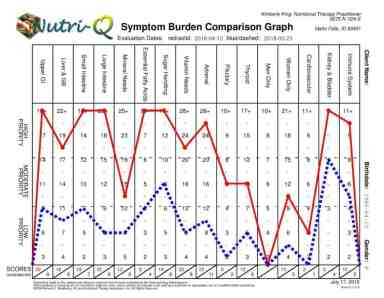 Nutrition Questionnaire Graph