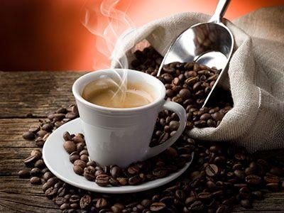koffie met bonen