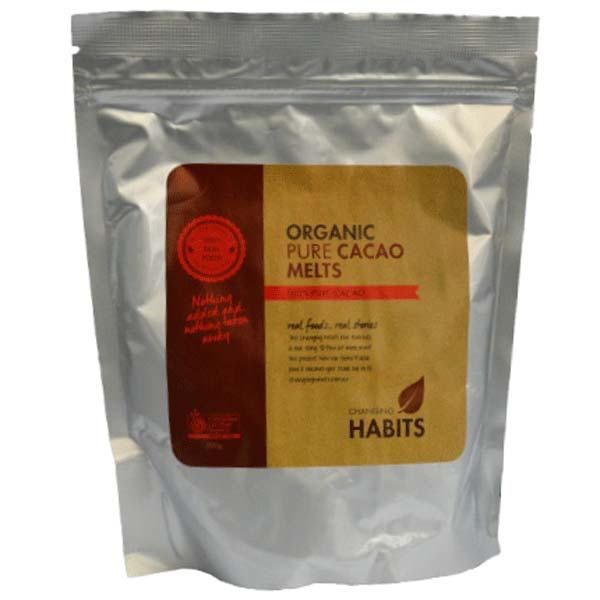 Changing Habits Cacao Melts – Organic
