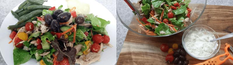 Four easy summer salad healthy meal recipes: Delicious!