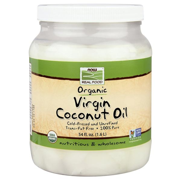 Now Organic Coconut Oil