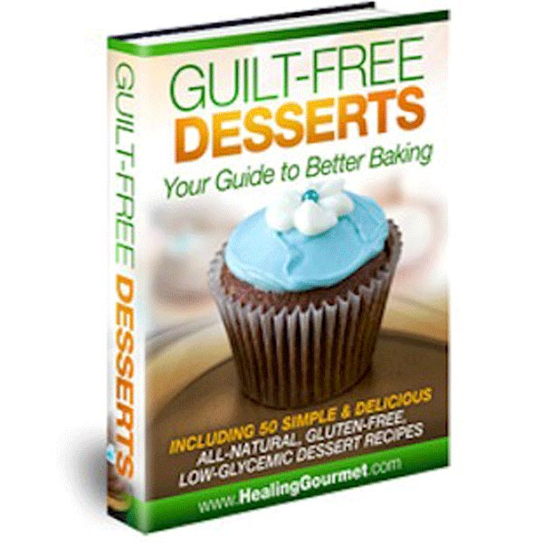Guilt Free Desserts Recipe Book
