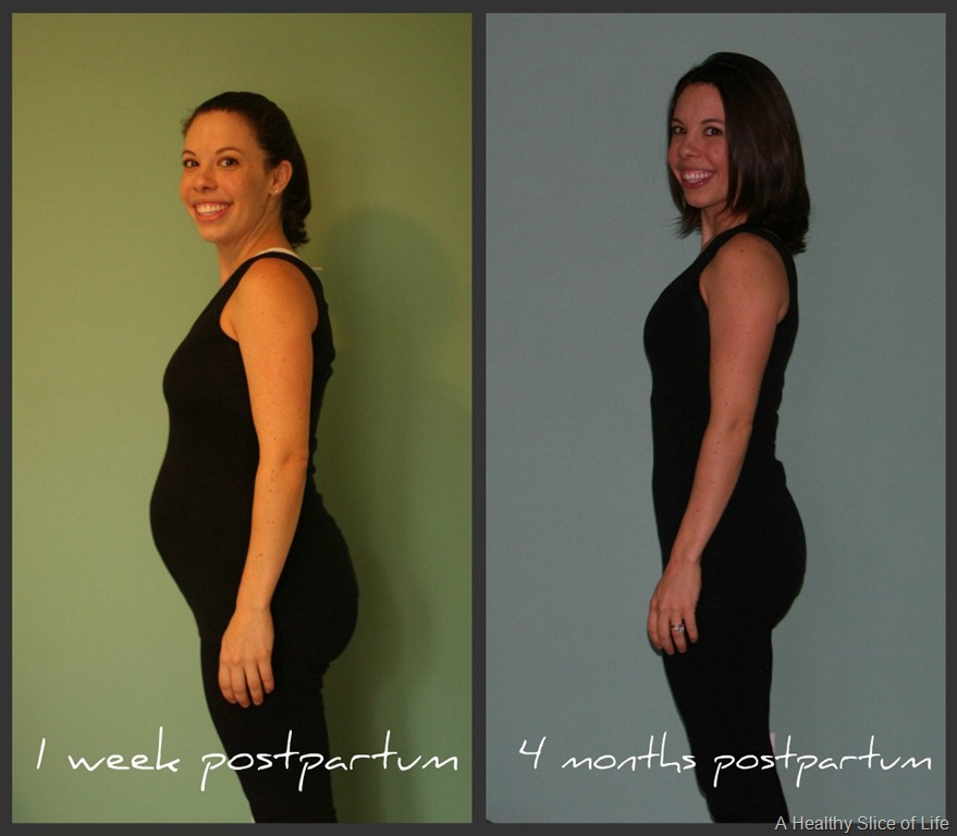 Post Baby Body: 4 Months Postpartum | A Healthy Slice of Life