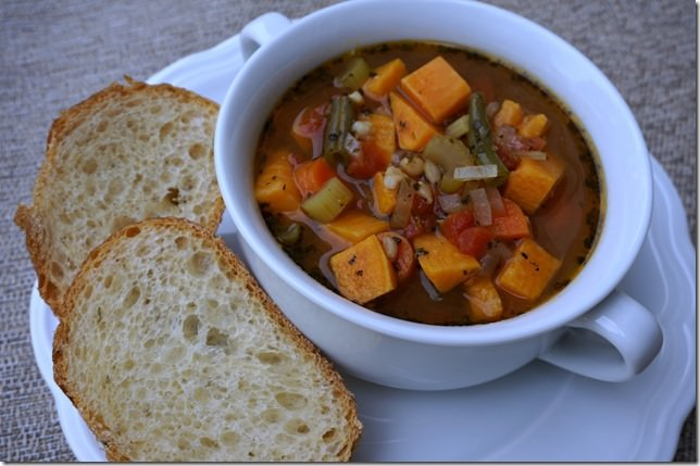 hearty homemade vegetable soup 2