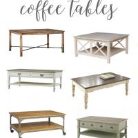 Farmhouse Style Coffee Tables