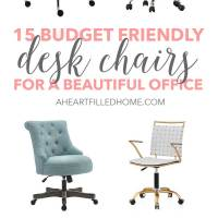 15 Budget Friendly Desk Chairs For A Beautiful Office