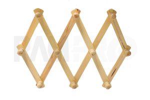 accordian wood wall rack