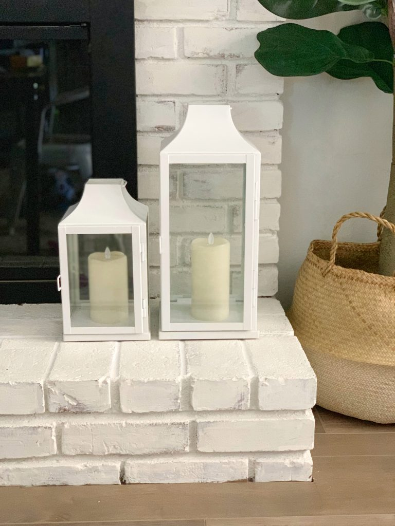 Styling Modern Outdoor Candle Lanterns from A Heart Filled Home