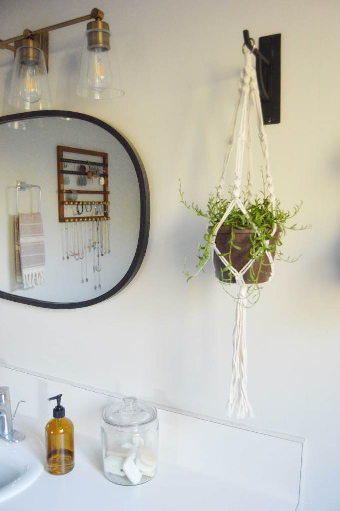 Modern Farmhouse Master Bathroom Makeover from A Heart Filled Home