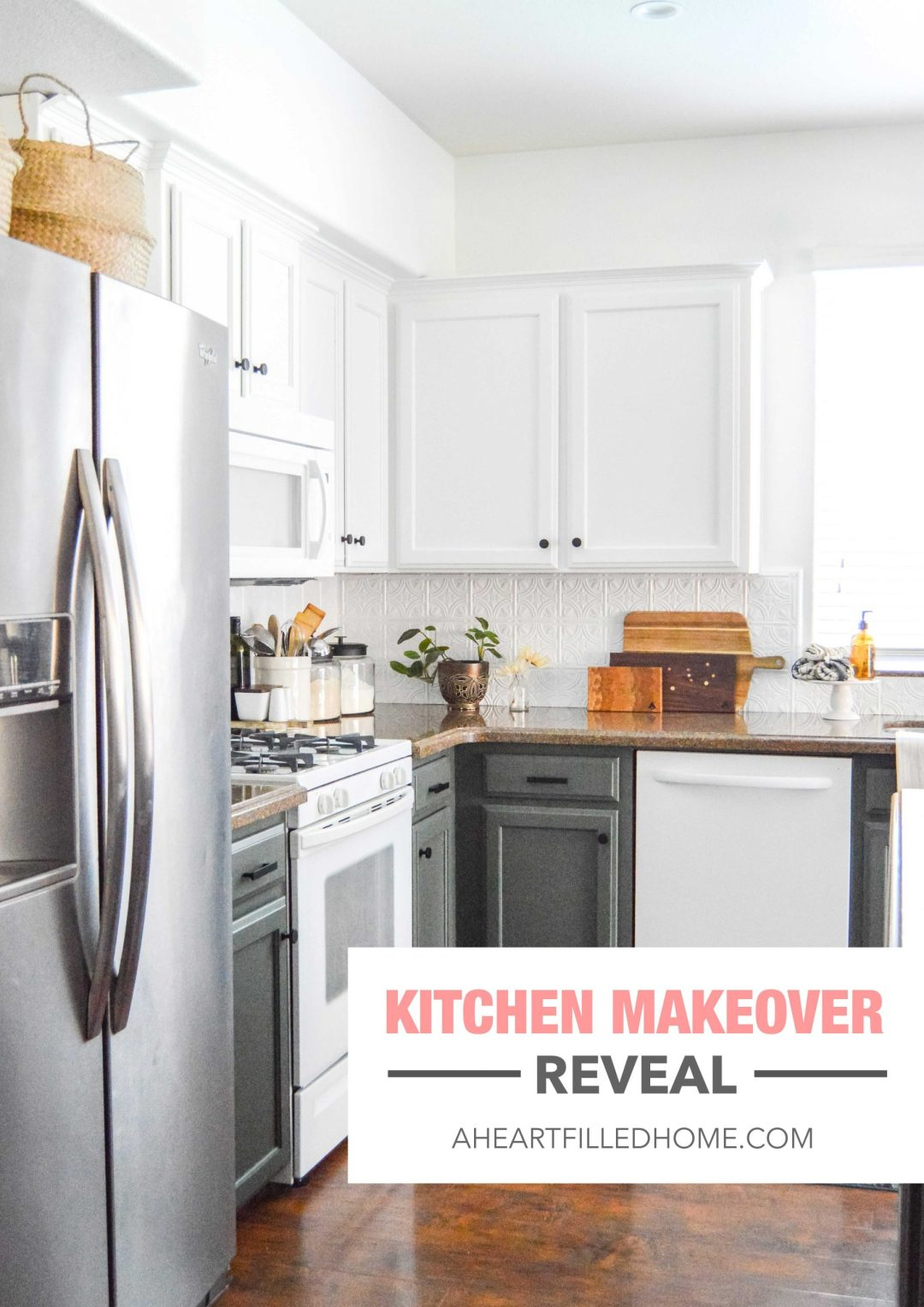 Kitchen Makeover Reveal from A Heart Filled Home