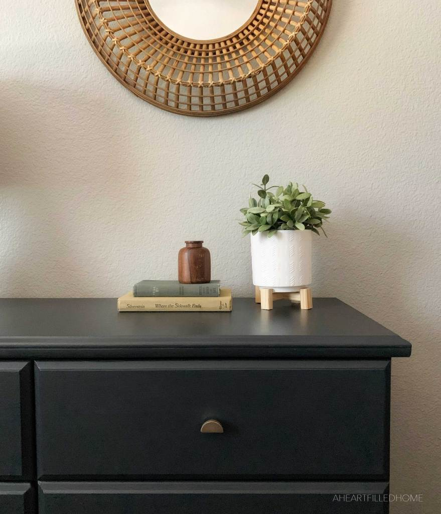 Dresser Makeover with Fusion Mineral Paint - from A Heart Filled Home