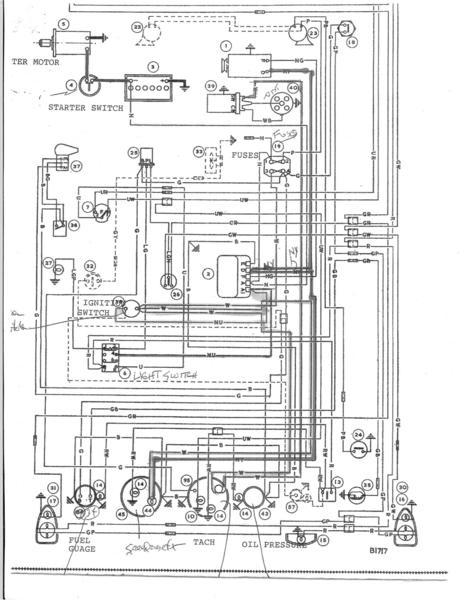 wiring diagram austin healey 3000