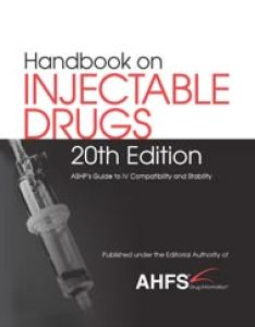 Ahfs handbook on injectable drugs th edition also drug information rh ahfsdruginformation