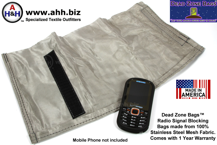 Genuine Dead Zone Bags Signal Blocking Bags  Faraday Pouches