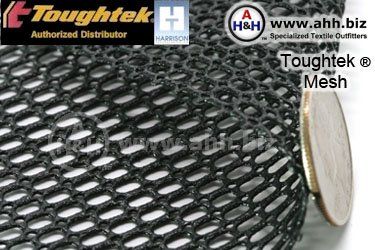 Toughtek nonslip rubberized mesh material