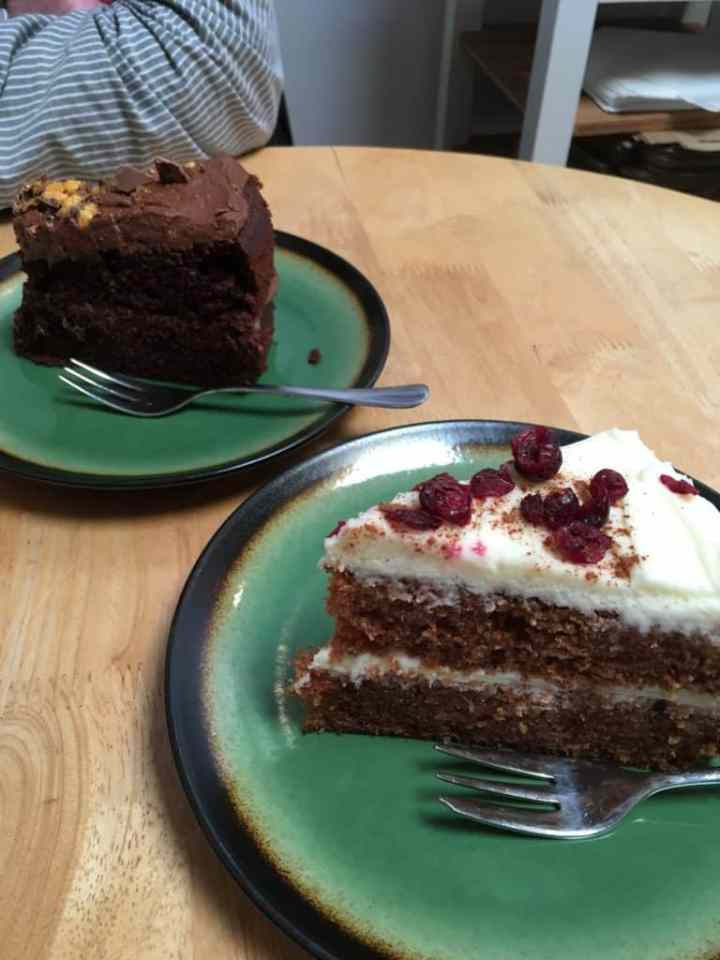 Eat cake at the Pier Lairg