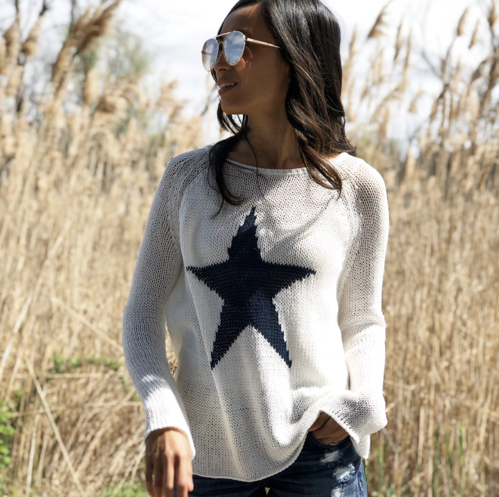 Wooden Ships Summer Sweater Fashion A Hint Of Glam