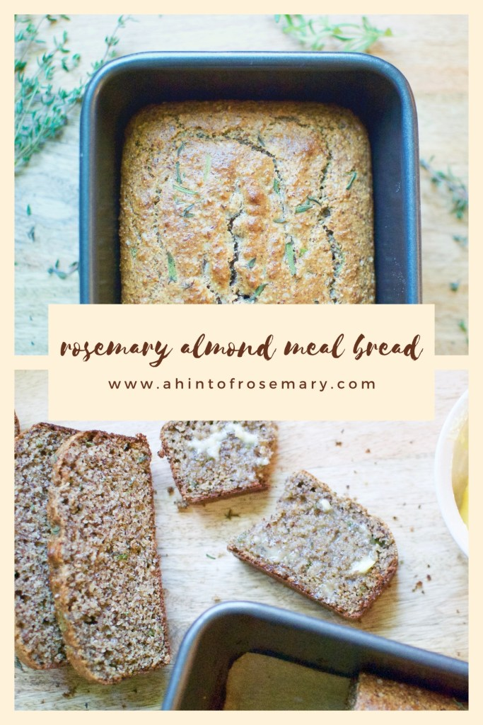 rosemary almond meal bread