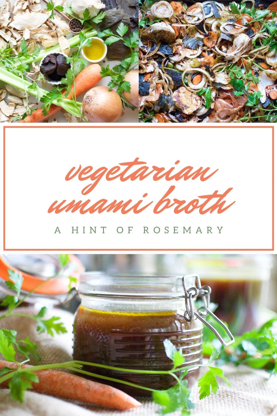 vegetarian umami broth