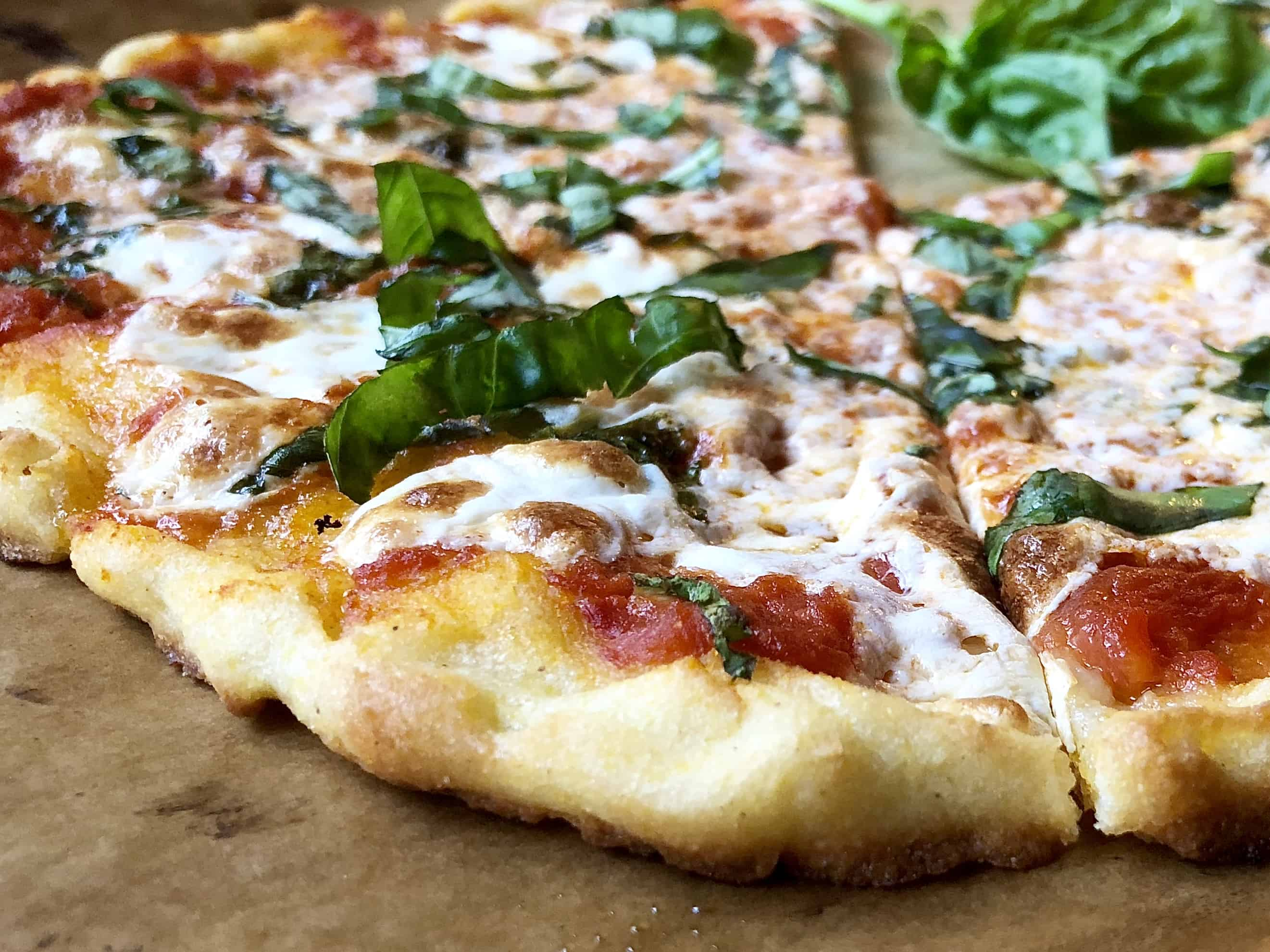 The Best Gluten Free Pizza Crust A Hint Of Rosemary
