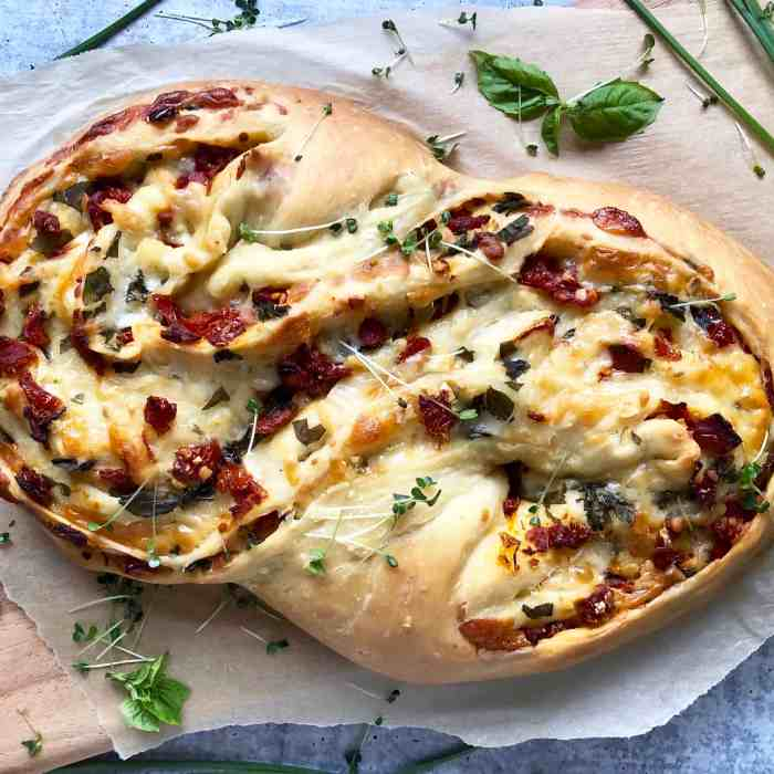 Pane Bianco with Sun-Dried Tomatoes