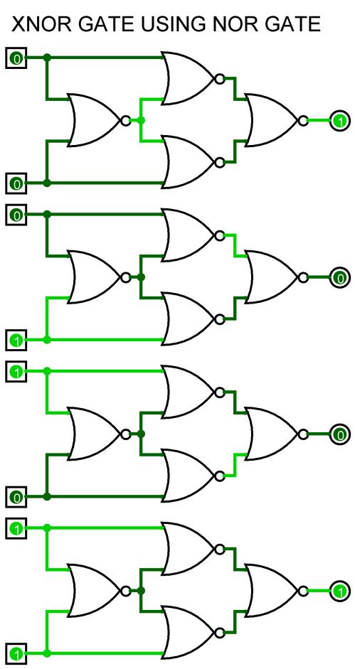 small resolution of xnor using nor xnor using nor