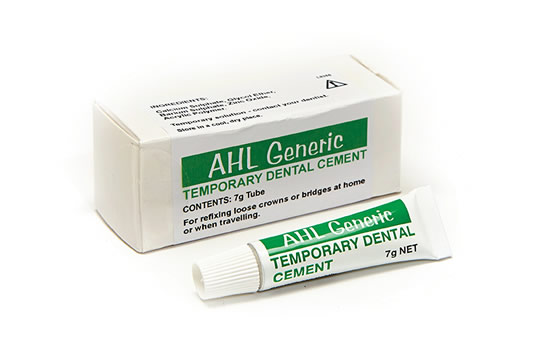Temporary Glue For Dental Crown