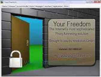 حمل برنامج كاسر البروكسي your freedom للكمبيوتر والموبايل