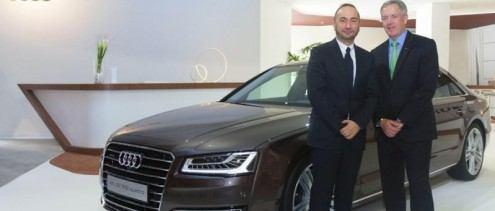 أودي للسيارات تعرض تصميمها الجديد في دبي