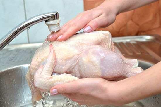 دراسة تحذر من غسيل الدجاج قبل الطهو