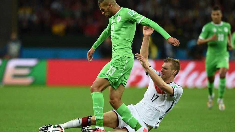 بالفيديو أهداف مباراة ألمانيا والجزائر في دوري 16
