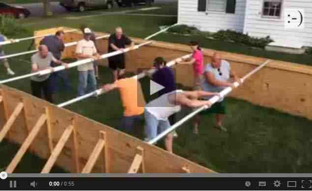 فيديو مضحك لأشخاص يحاكون لعبة الفيشة