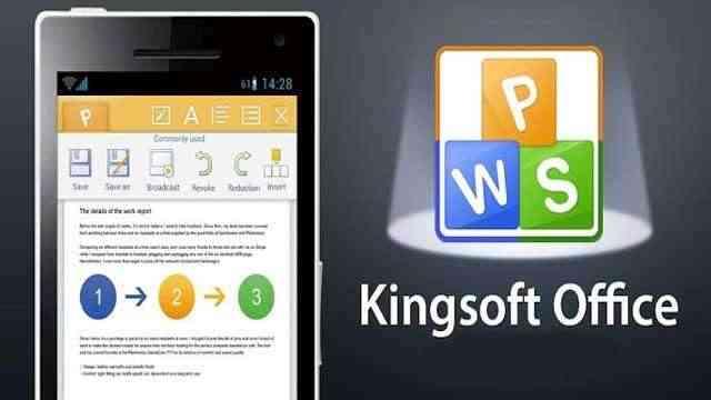 حمل تطبيق الاوفيس Kingsoft Office 5.3.3 للأندرويد