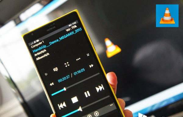 VLC Mobile Remote تطبيق اندرويد يجعل هاتفك متحكم بالكمبيوتر