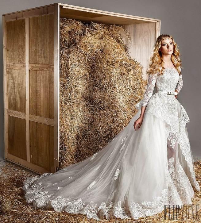 فساتين زفاف زهير مراد وتشكيلة عام  2015