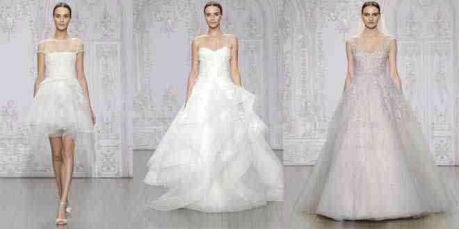أجمل فساتين زفاف 2015 للمصممة