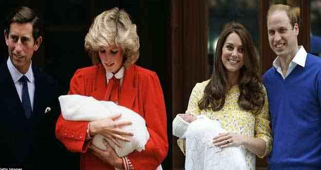 الأميرة ديانا هو اسم الابنة الجديدة لكيت ميدلتون و الأمير وليام