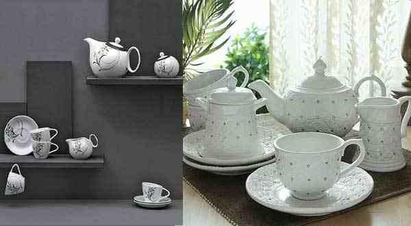 أطقم شاي مميزة في تصميمها تعشقها كل ست بيت