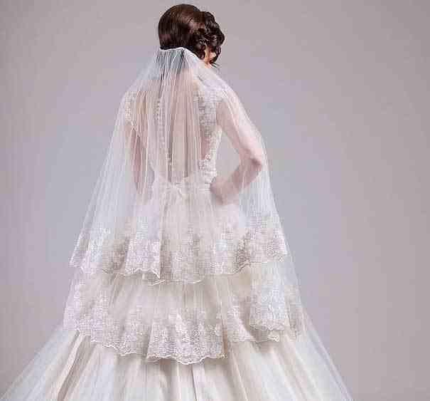 فساتين زفاف منفوشة 2016