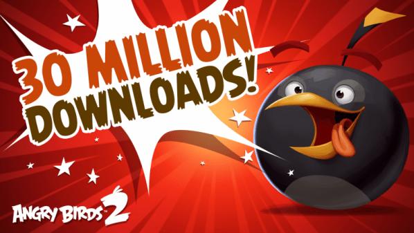 لعبة الطيور الغاضبة 2 من روفيو تحقق 30 مليون تحميل في اسبوعين