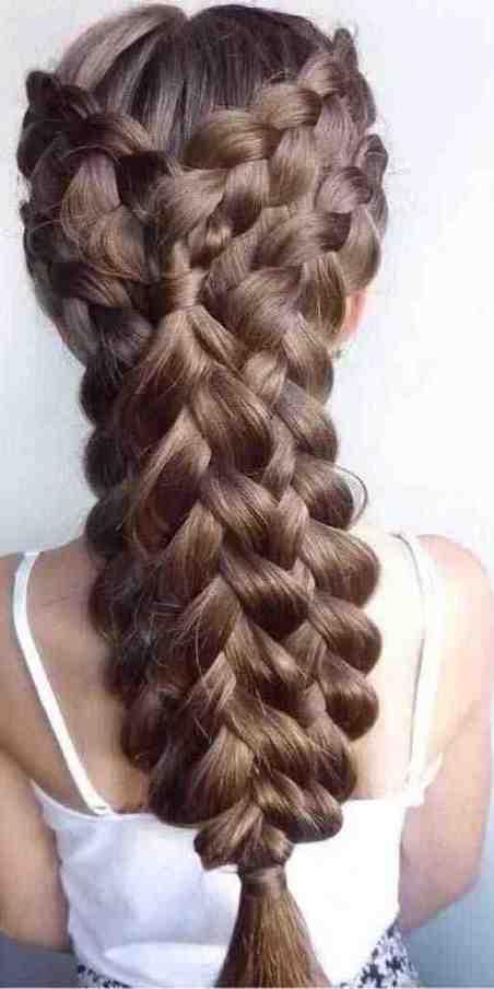 تسريحات ضفيرة الشعر