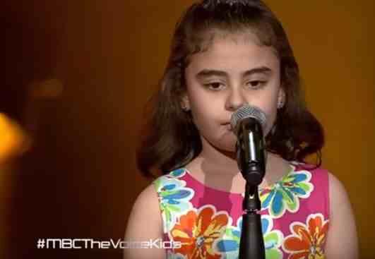 شاهد ذا فويس كيدز غنى بو حمدان - عطونا الطفولة - مرحلة الصوت