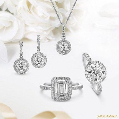 مجوهرات معوض الألماسية للعروس مجموعة فاخرة و عصرية