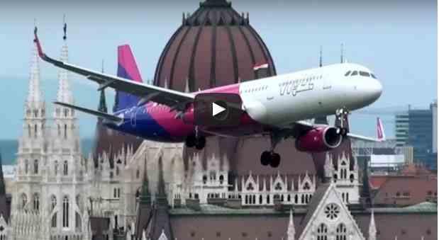 اخطر تحليق طائرات ايرباص 321 في العالم شاهد بالفيديو
