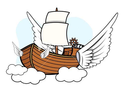 سفينة العروسين الطائرة