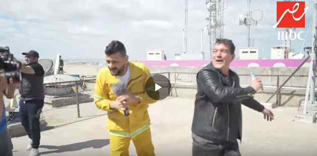 رامز بيلعب بلنار الحلقه الخامسه مع انطونيو بانديراس