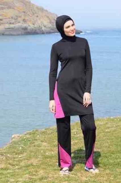 الزي الاسلامي للسباحة خاص بالمحجبات