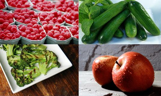 أطعمة تكاد تخلو من السعرات الحرارية