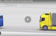 نظام المكابح الذاتية للشاحنات الكبيرة من شركة فولفو ومرسيدس محير للعقل!